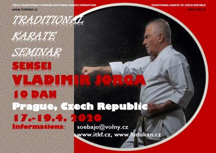 Seminář tradičního karate pod vedením Dr.Vladimíra Jorgy