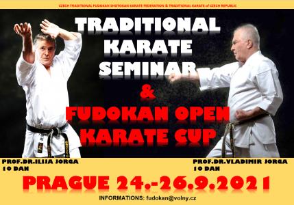 Fudokan Open Cup a seminář Dr.Ilija Jorga a Dr.Vladimir Jorga